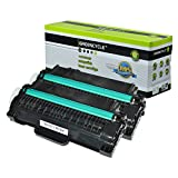 GREENCYCLE 2 Pack High Yield Toner Cartridge Replacement for Samsung MLT-D105L (Black) Print Cartridge