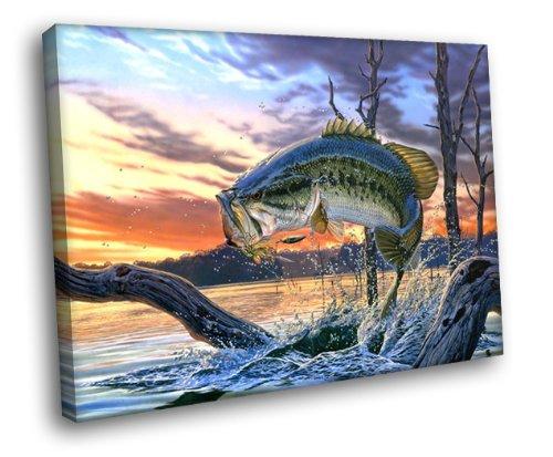Top 10 best bass fishing wall art 2019