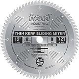 Freud LU91M012 12-Inch 72 Tooth ATB Thin Kerf Sliding Miter Saw...