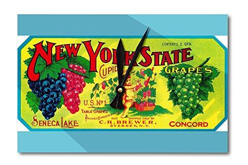vintage acrylic grapes - 2