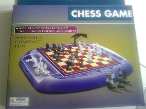 NO STRESS CHESS GAME PORTABLE AND COMPACT by CHESS GAME