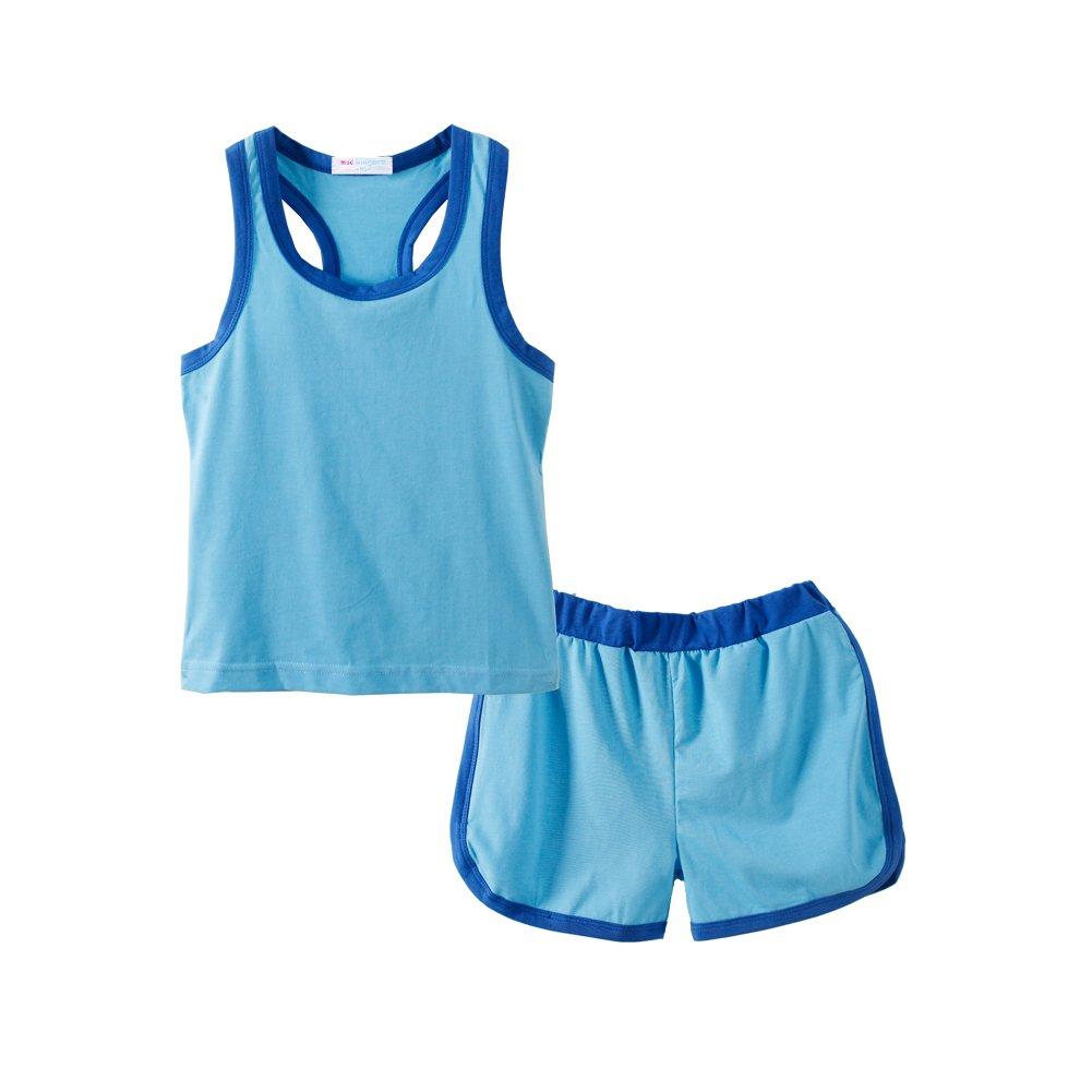 Mud Kingdom Boys Clothes Sets Plain Kids Tracksuit-Like Outfits ZT0529