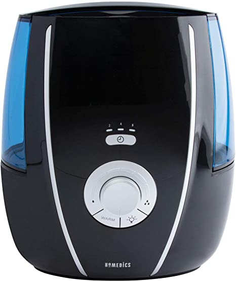 HoMedics Warm or Cool Mist Ultrasonic Humidifier with Aromatherapy