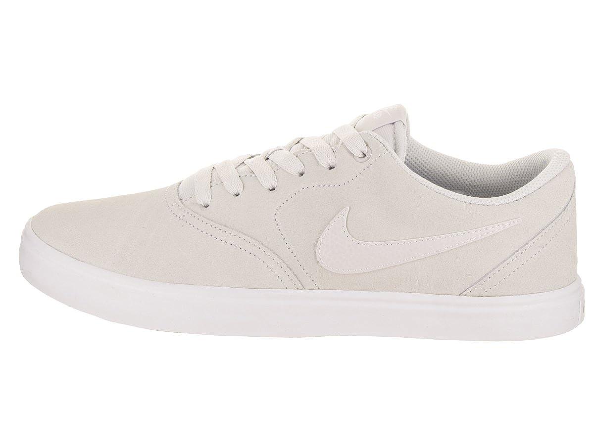 11 Women US 843895-007 Nike Unisex SB Check Solar Vast Grey//Vast Grey White Skate Shoe 9.5 Men US