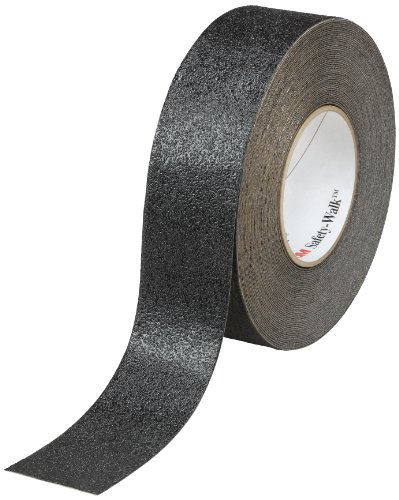 Grade Non Skid Safety Tape - 3M Safety-Walk Slip-Resistant Conformable Tapes and Treads 510, Black, 2