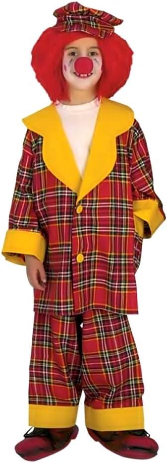 Disfraz de payaso - payaso - niño - disfraces para niños ...