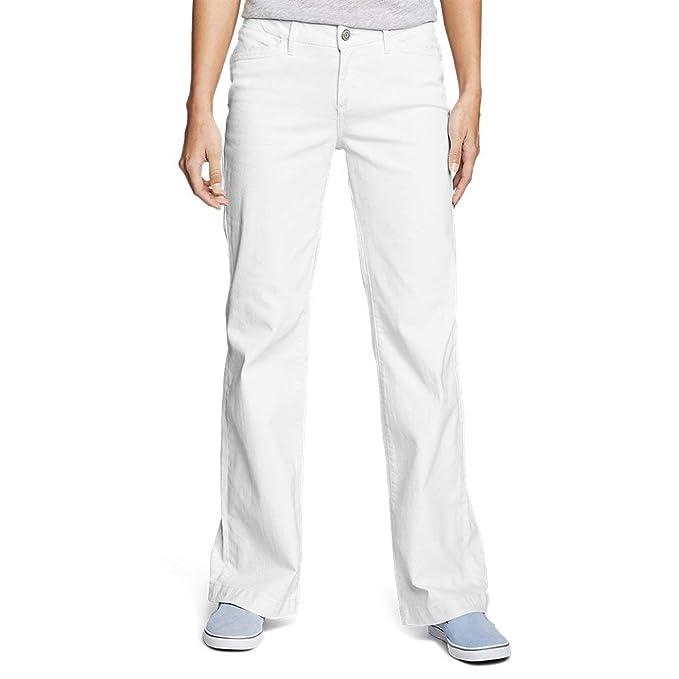 Amazon.com: Eddie Bauer Curvy - Pantalones vaqueros para ...