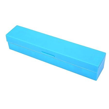 OUNONA Dispensador cortador de film de cocina de acero inoxidable (azul): Amazon.es: Hogar