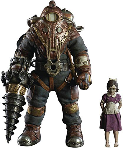 ThreeZero Bioshock: Subject Delta & Little Sister 1: 6 Scale Action Figure Two Pack