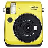 Fujifilm Instax Mini 70 - Instant Film Camera (Yellow)