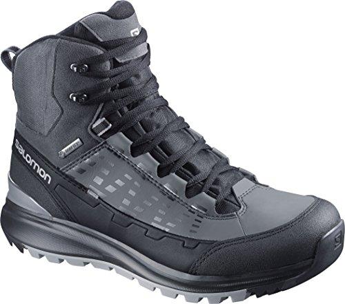 SalomonKaïpo Mid GTX - zapatillas de trekking y senderismo de media caña Hombre black/autobahn/pewter