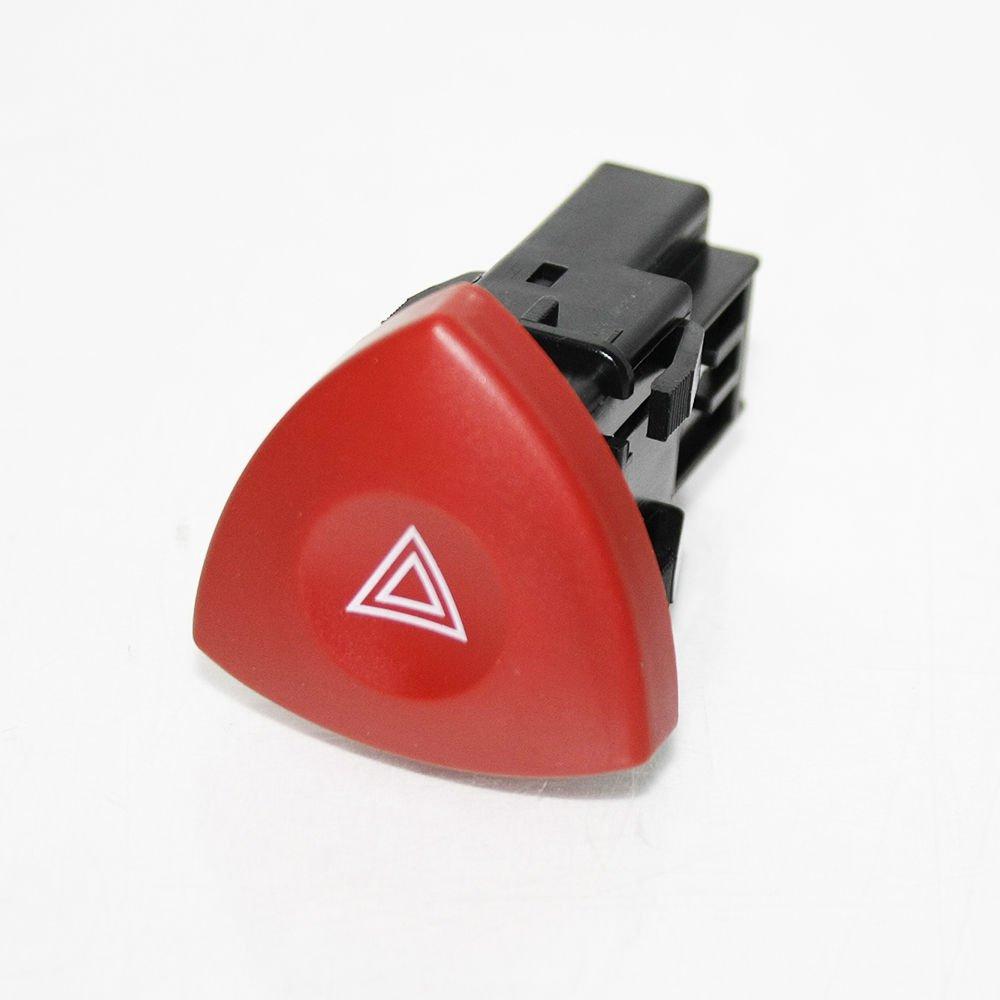 Red Triangle Hazard Warning Light Switch Button Dash For Movano Vivaro Espace Laguna Master Trafic OEM 93856337 04408207 04430688 4416161 93185375