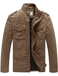 Men's Stand Collar Cotton Field Jacket