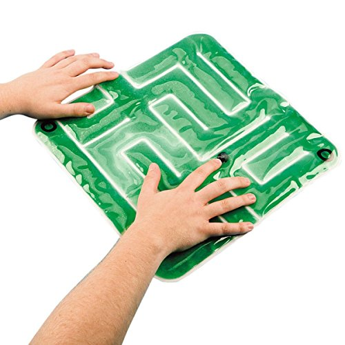 Sensory Activities Stimulation (SENSORY COGNITIVE GEL MAZE WITH MARBLES by Skil-Care)