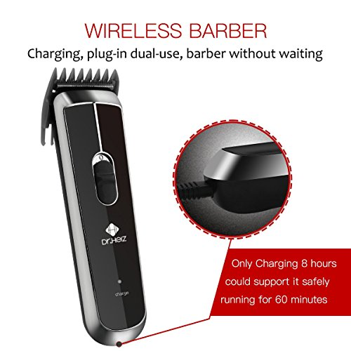 Professional Hair Clippers-Rechargeable Hair Trimmers ,Haircut Kit,Wireless Fashion hair styling clippers Hair cutting for kids and adults by Dr.HeiZ
