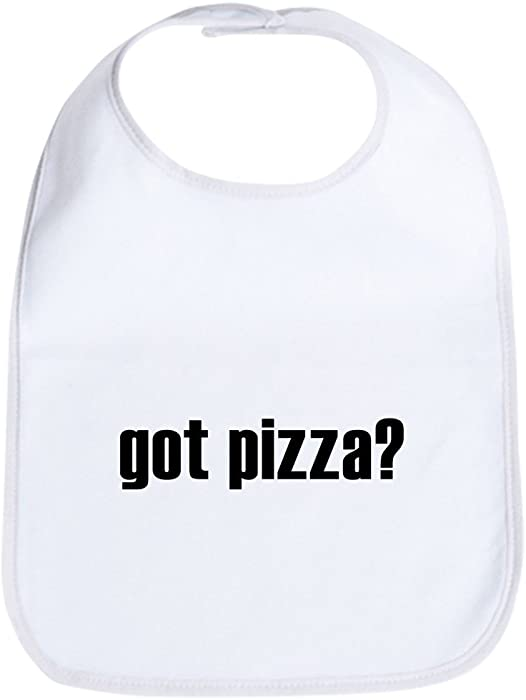 a91148f7e01 Amazon.com  CafePress - got pizza  Bib - Cute Cloth Baby Bib ...