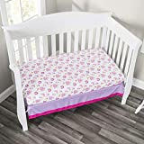 Everyday Kids 2 Pack Fitted Girls Crib