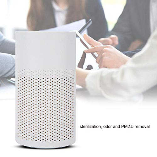 Rosvola USB air Purifier for The Home, 3D Activated Carbon Filter, Portable USB Mini air Filter for The Bedroom and…