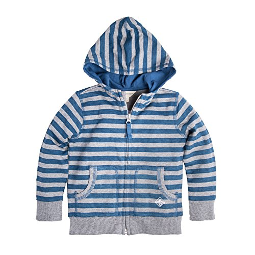 Ms Star (Burt's Bees Baby Baby Infant Organic Zip Front Hoodie, Blue Star Stripe, 3-6 Months)
