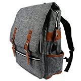 No.1 Laptop Backpack - Office Anti Theft Travel Computer Bag with USB Charging Port & a Secret Pocket 4 Young Women ,Slim Vintage Waterproof Bookbag for College/School Fits 15.6 Inch Laptop & Notebook