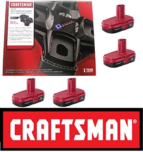 Craftsman C3 19.2v 4 Port Multi-Chemistry Battery Charger 17