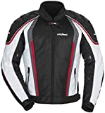 Cortech GX-Sport Air 4.0 Mens White/Black Mesh/Textile Jacket - X-Large