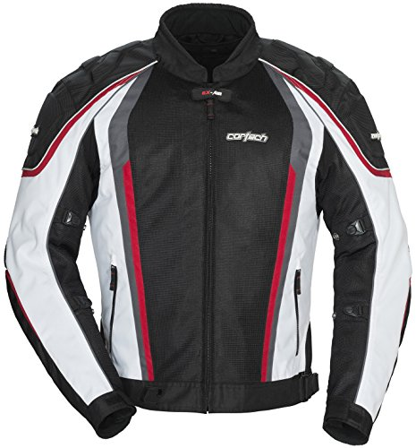 Cortech GX-Sport Air 4.0 Mens White/Black Mesh/Textile Jacket - 3X-Large