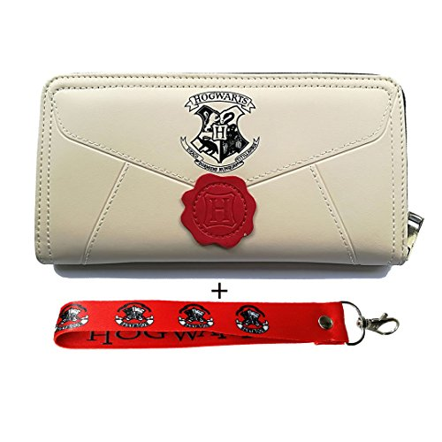 Women's Wallets for Harry Potter Fans Designer Hogwarts Long Zipper Wallet for Women Credit Card Holder ()