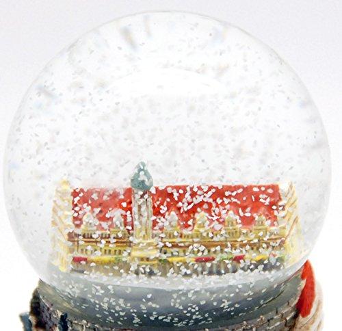 30015 Boule a neige Souvenir Allemagne ville de la culture Leipzig
