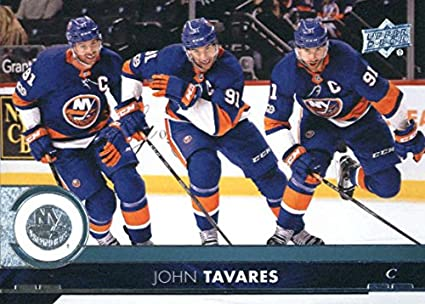 bb348d0c5fd 2017-18 Upper Deck Series 2 #366 John Tavares New York Islanders Hockey Card