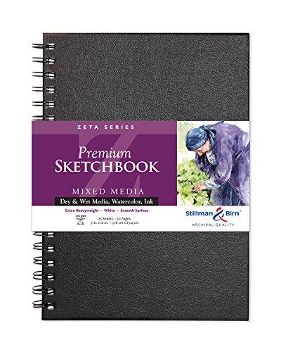 Stillman & Birn Zeta Series Wirebound Sketchbook, 7
