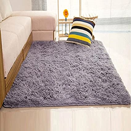 Amazon DODOING Super Soft Modern Shag Area Rugs Living Room Classy Carpets For Bedroom