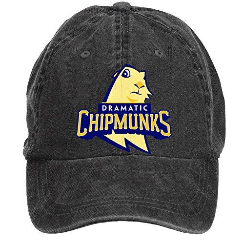 sljd-dramatic-chipmunk-prairie-dog-adjustable-washed-baseball-caps