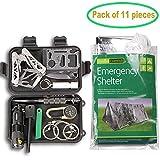 Survival Kit EMDMAK Outdoor Emergency Gear Kit with...