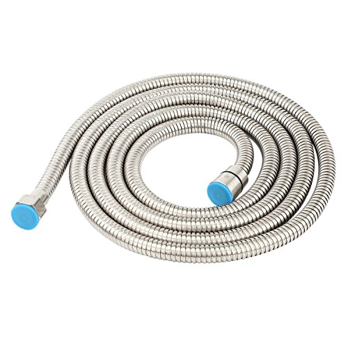 Lansan 304 Stainless Steel Handheld Shower Hose Replacement 98 Inches (2.5 Meters) by Lansan