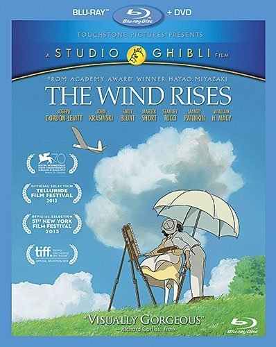 The Wind Rises (2-Disc Blu-ray +DVD Combo Pack) by Walt Disney Studios Home Entertainment