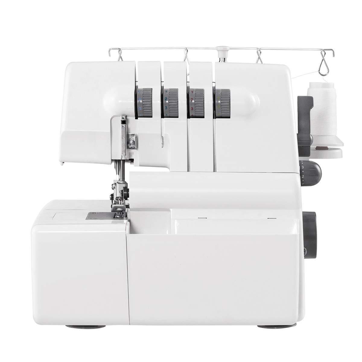 COSTWAY Portable Multifunctional Serger Sewing Machine Image