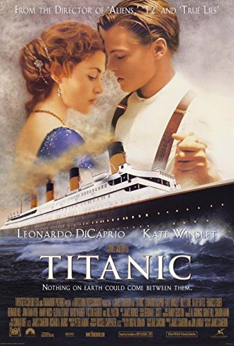 Posters Elite's Titanic Movie Leonardo Di Caprio Kate Winsle