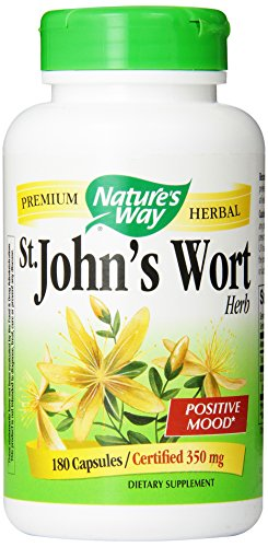 Wort, 350mg 180 Capsules Way St. John de la nature