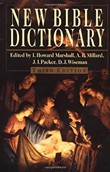 New Bible Dictionary 0802822827 Book Cover