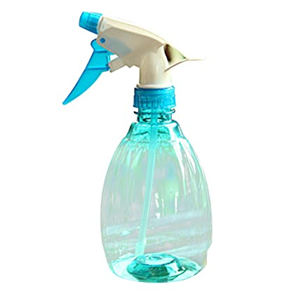 Covermason Plastico Botella de Spray Regar Flores Rociador de Agua para Plantas(Azul)