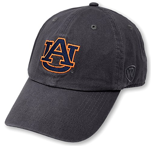 (Top of the World Auburn Tigers Men's Hat Icon, Charcoal, Adjustable)