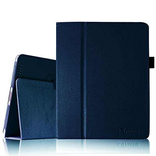 Fintie (Navy) Folio Leather Case Cover for iPad 4th Generation With Retina Display, the New iPad 3 &