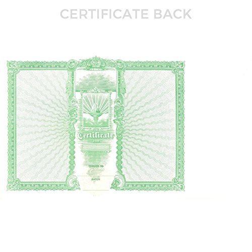 Goes 47 Stock Certificate - Pack of 100