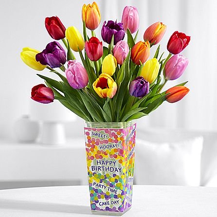 Amazon Birthday Floral Garden