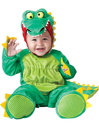 InCharacter Baby's Goofy Gator Costume, Green, Medium -