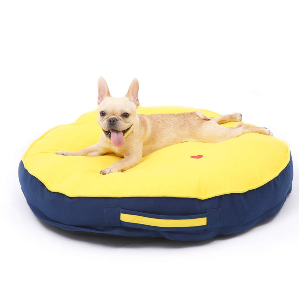 A MFERZA petsuppliesmisc Soft Washable Dog Pet Warm Bed Cushion (color   B, Size   M)