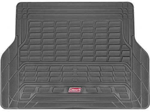 Coleman Cargo Mat Trunk Liner Fits Most Sedans, Coupes and SUVs - Semi Custom Trimmable - Gray ()