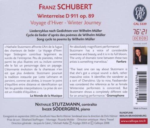 Sodergren, Stutzmann - Voyage Dhiver/D 911 - Amazon com Music