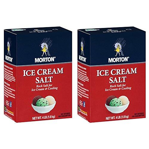 Mortons Salt Rock 4 Lb Pack Of 2 by Morton Salt